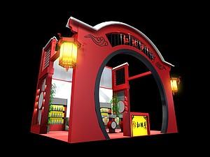 紅樓夢糖酒展臺展覽模型