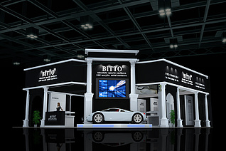 BITTO卫浴展台设计展览模型