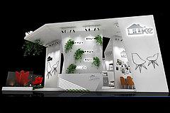 纽莱克展厅展览模型