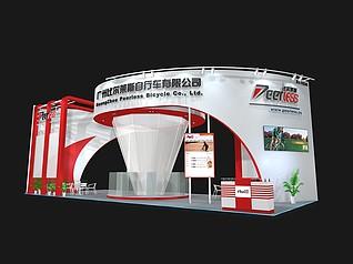 比尔莱斯交通工具展厅展览模型