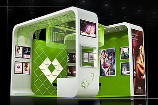 澳瑄贸易展厅设计展览模型