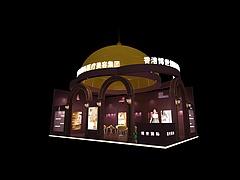 博世国际医疗美容展台展览模型
