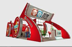 智尊玩具展廳展覽模型