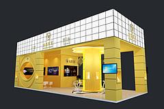 金象珠宝展台展览模型