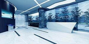 房地產展廳展覽模型