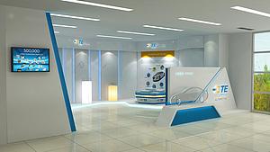 TE汽車用品展廳展覽模型