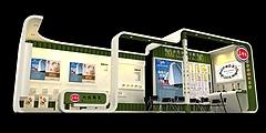 三好米米食专家展台源文件展览模型