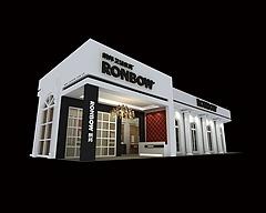 朗邦衛浴展廳展覽模型