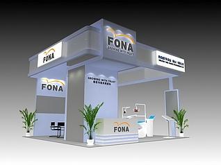 西诺德牙科展厅展览模型