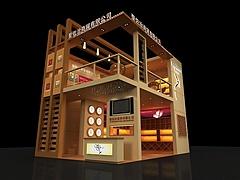 圣佐治酒业展厅源文件展览模型