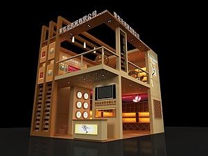 圣佐治酒業展廳源文件展覽模型