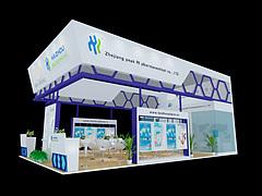 神华科技展厅展览模型