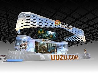 游族游戏展厅展览模型