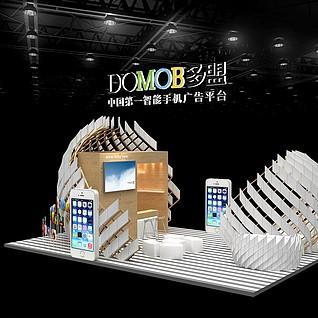 多萌广告展3d模型