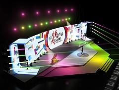 大悦城产品发布会展览模型