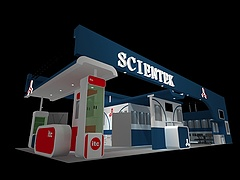 SCIENTEK 餐饮设备展览模型