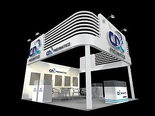 pneumatics 器械展展览模型