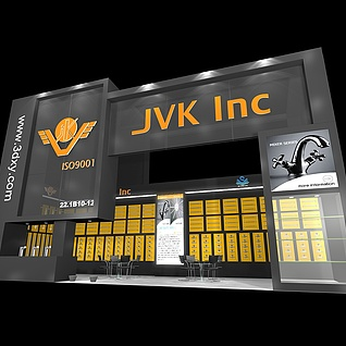 JVK 卫浴配件展览模型