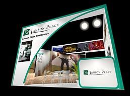 服务酒店展厅展览模型