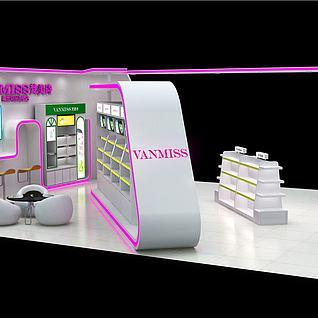 梵美诗美妆品店展览模型