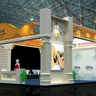 乐器展展览模型