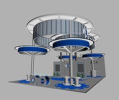 机械展展览模型