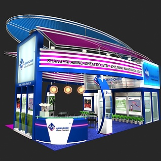 电子展展览模型