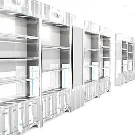 展厅珠宝柜模型展览模型