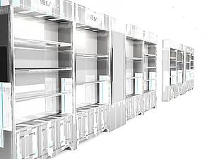 展廳珠寶柜模型展覽模型