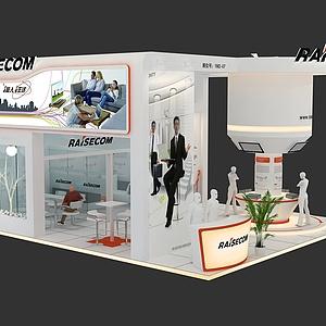 瑞斯康达展台模型3d模型