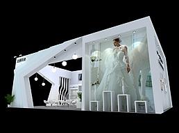北雁相框展台展览模型