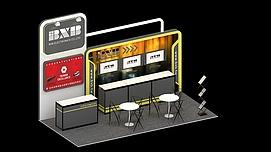 BXB展厅展览模型