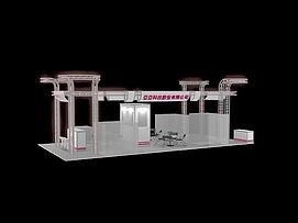 科技展厅展览模型