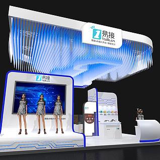 金融展厅展览模型