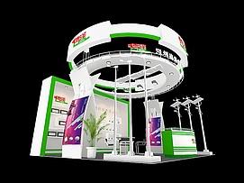 德泽 科技展厅展览模型