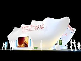 花灯歌舞展厅展览模型