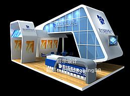 医药展厅展览模型