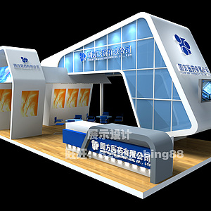 醫藥展廳3d模型
