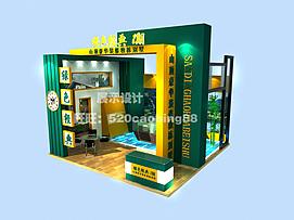 别墅售楼处展厅展览模型