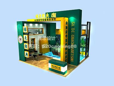別墅售樓處展廳3d模型