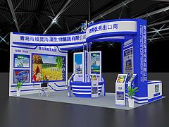 青岛海鲸灵展览模型