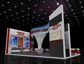 安防展,电子展览模型