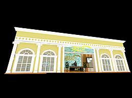 御木湾展厅展览模型