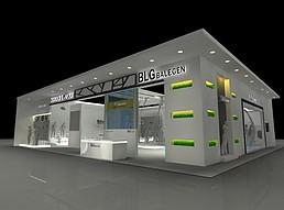BLG展厅展览模型