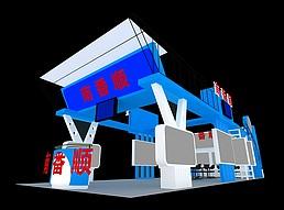 南番顺展厅展览模型