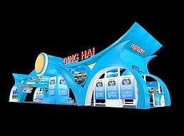 青海旅游展厅展览模型