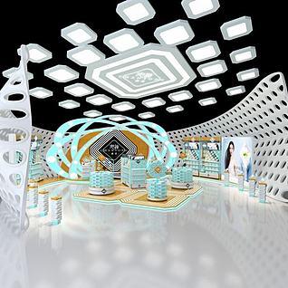 创意展览3d模型
