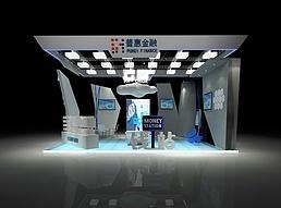 科技感展厅展览模型