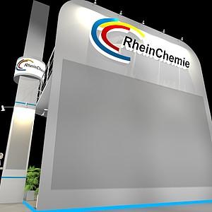 化學萊茵展展覽模型