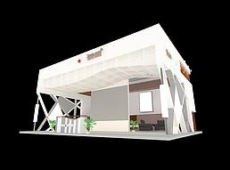 荣盛展厅展览模型